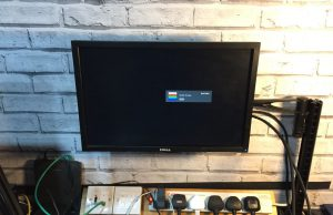Dell P1911 monitor on arm